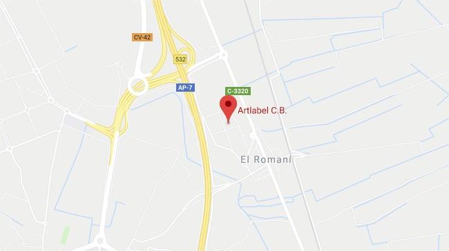 C/ ÀNECS, 9 POL. IND. LA ERMITA 46430 SOLLANA, VALENCIA