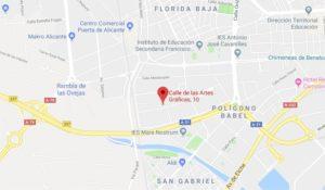 Calle de las Artes Gráficas, 10 Alicante