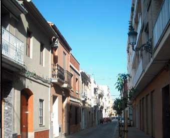 Calle de San Antonio de mudanzas Sedaví