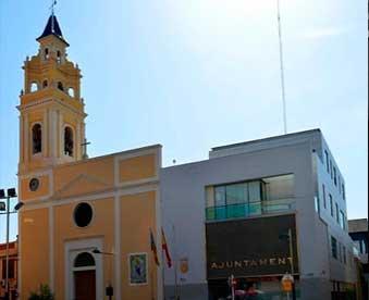 Plaza Jaime I el Conquistador en mudanzas Sedaví